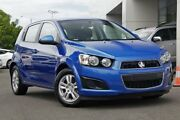 2015 Holden Barina TM MY15 CD Blue 5 Speed Manual Hatchback Gymea Sutherland Area Preview
