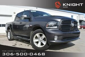 2014 Ram 1500 Sport | Leather | Heated & Cooled Seats | Remote S