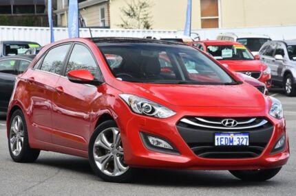 2013 Hyundai i30 GD Premium Red 6 Speed Sports Automatic Hatchback