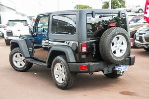 2012 Jeep Wrangler JK MY2013 Sport Black 6 Speed Manual Softtop Wilson Canning Area Preview