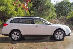 2010 Subaru Outback B5A MY11 2.0D AWD White 6 Speed Manual Wagon Glendalough Stirling Area Preview