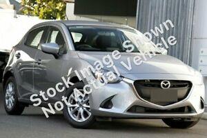 2016 Mazda 2 DJ2HA6 Maxx SKYACTIV-MT Silver 6 Speed Manual Hatchback Capalaba Brisbane South East Preview