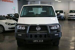 2015 Volkswagen Transporter T5 MY15 TDI400 LWB White 6 Speed Manual Van Frankston Frankston Area Preview