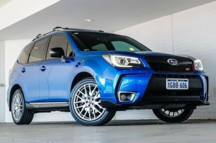 2016 Subaru Forester S4 MY16 tS CVT AWD Blue 8 Speed Constant Variable Wagon