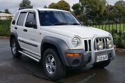 2002 Jeep Cherokee KJ Sport (4x4) White 5 Speed Manual Wagon Blair Athol Port Adelaide Area Preview