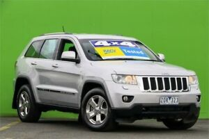 2012 Jeep Grand Cherokee WK MY2012 Laredo Silver 5 Speed Sports Automatic Wagon Ringwood East Maroondah Area Preview
