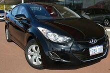 2012 Hyundai Elantra MD Active Black 6 Speed Manual Sedan Gosnells Gosnells Area Preview