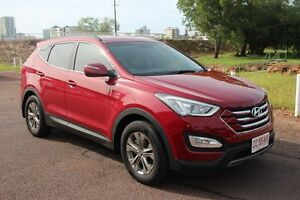 2013 Hyundai Santa Fe DM MY14 Active Red 6 Speed Automatic Wagon The Gardens Darwin City Preview