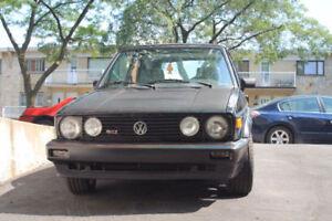 A True Classic VW Cabrio