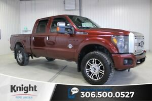 2015 Ford Super Duty F-350 SRW Platinum Navigation, Moon Roof