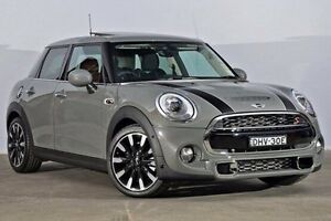 2016 Mini Hatch F55 Cooper S Moonwalk Grey 6 Speed Sports Automatic Hatchback Alexandria Inner Sydney Preview