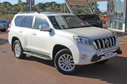 2015 Toyota Landcruiser Prado KDJ150R MY14 Kakadu Crystal Pearl 5 Speed Sports Automatic Wagon