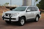 2013 Toyota Landcruiser Prado KDJ150R GXL Silver Pearl 5 Speed Automatic Wagon The Gardens Darwin City Preview