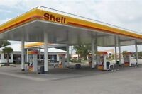 Shell Gas Station/Con-Store/Lotto/Auto Wshop with Land for Sale