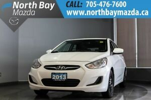 2013 Hyundai Accent Manual with A/C, Two Sets of Tires!