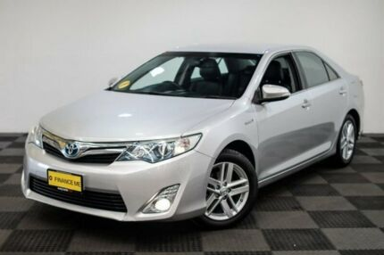 2012 Toyota Camry AVV50R Hybrid HL Silver 1 Speed Constant Variable Sedan Hybrid