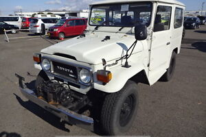 1981 TOYOTA LAND CRUISER DIESEL !!!! **READY TO SHIP FROM JAPAN*