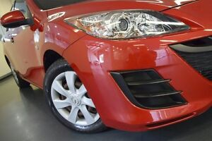 2010 Mazda 3 BL10F1 Neo Red 6 Speed Manual Hatchback Chatswood Willoughby Area Preview
