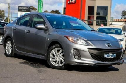2011 Mazda 3 BL10F2 Maxx Activematic Sport Silver 5 Speed Sports Automatic Sedan Preston Darebin Area Preview