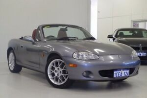 2002 Mazda MX-5 NB30P2 Titanium Grey 6 Speed Manual Softtop Myaree Melville Area Preview