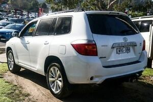 2009 Toyota Kluger GSU45R KX-S AWD White 5 Speed Sports Automatic Wagon Ferntree Gully Knox Area Preview