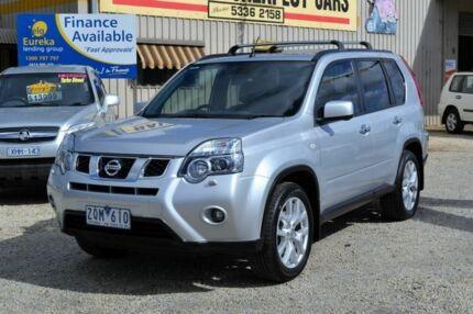 2012 Nissan X-Trail Silver Automatic Wagon Delacombe Ballarat City Preview