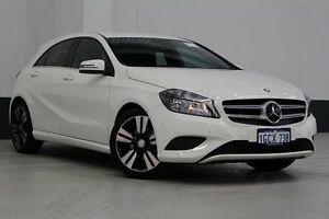 2013 Mercedes-Benz A200 176 CDI BE White 7 Speed Automatic Hatchback Bentley Canning Area Preview