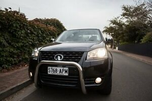 2012 Great Wall V200 K2 MY12 Black 6 Speed Manual Utility Hove Holdfast Bay Preview