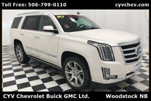 2015 Cadillac Escalade Premium - 6.2L V8, Nav, Sunroof, Heated &