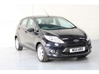 2011 FORD FIESTA 1.25 ZETEC | BLUETOOTH | MAY 2018 MOT | £114.36 A MONTH