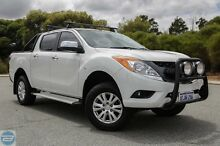 2012 Mazda BT-50 UP0YF1 GT White 6 Speed Manual Utility Hillman Rockingham Area Preview