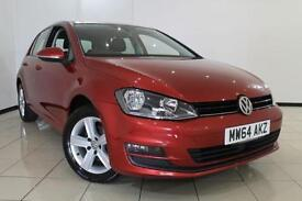 2014 64 VOLKSWAGEN GOLF 1.6 MATCH TDI BLUEMOTION TECHNOLOGY 5DR 103 BHP DIESEL