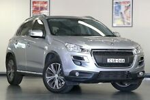 2013 Peugeot 4008 MY12 Active 2WD Silver 6 Speed Constant Variable Wagon North Willoughby Willoughby Area Preview
