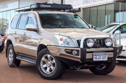 2004 Toyota Landcruiser Prado GRJ120R Grande Gold Shimmer 4 Speed Automatic Wagon