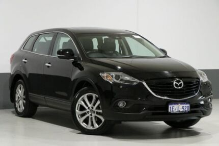 2012 Mazda CX-9 MY13 Grand Touring Black 6 Speed Auto Activematic Wagon Bentley Canning Area Preview