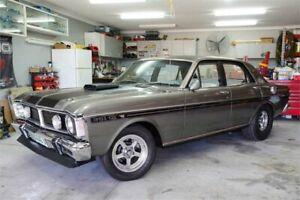 1969 Ford Fairmont XW Pepper Grey 3 Speed Automatic Sedan Auburn Auburn Area Preview