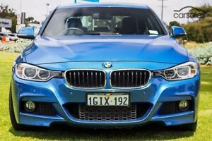 2013 BMW 320i F30 MY1112 Blue 8 Speed Sports Automatic Sedan