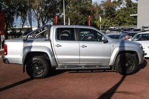 2013 Volkswagen Amarok 2H MY13 TDI420 4Motion Perm Highline Silver 8 Speed Automatic Utility Wilson Canning Area Preview