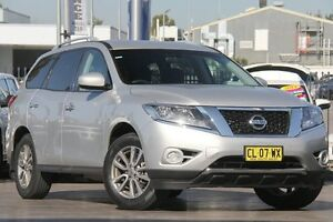 2015 Nissan Pathfinder R52 MY15 ST X-tronic 2WD Silver 1 Speed Constant Variable Wagon Penrith Penrith Area Preview