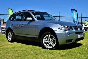2006 BMW X3 E83 MY07 SI Blue Sports Automatic Wagon Greenfields Mandurah Area Preview