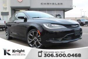 2016 Chrysler 200 S - Heated/Cooled Leather Seats - Remote Start