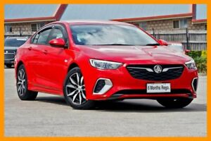 2018 Holden Commodore ZB MY18 RS Liftback Red/Black 9 Speed Sports Automatic Liftback Hillcrest Logan Area Preview