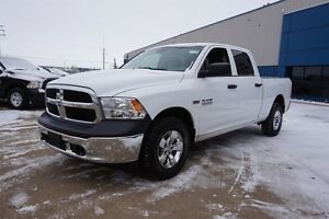 2016 Ram 1500 4X4 CREWCAB SXT Accident Free,  Bluetooth,  A/C,