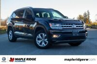 2018 Volkswagen Atlas Highline 4MOTION AWD, LEATHER, NO ACCIDENT