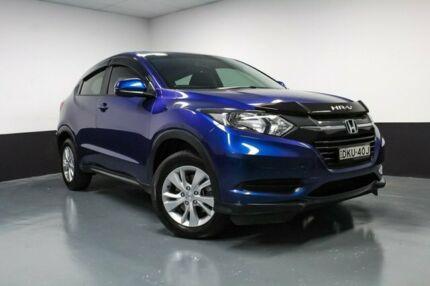 2016 Honda HR-V MY16 VTi Blue 1 Speed Constant Variable Hatchback Glendale Lake Macquarie Area Preview