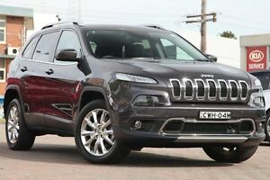 2015 Jeep Cherokee KL MY15 Limited (4x4) Granite 9 Speed Automatic Wagon Waitara Hornsby Area Preview