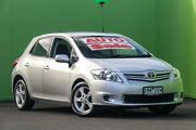 2010 Toyota Corolla ZRE152R MY10 Conquest Silver 4 Speed Automatic Hatchback Ringwood East Maroondah Area Preview
