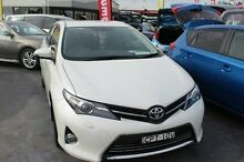 2013 Toyota Corolla ZRE182R Levin SX White 6 Speed Manual Hatchback South Maitland Maitland Area Preview