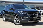 2016 Hyundai Santa Fe DM3 MY17 Highlander Black 6 Speed Sports Automatic Wagon Castle Hill The Hills District Preview