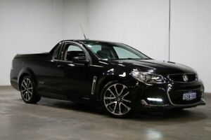 2016 Holden Ute VF II MY16 SS V Ute Black 6 Speed Manual Utility Welshpool Canning Area Preview